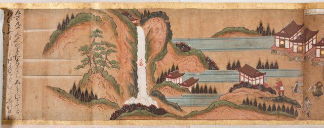 Illustrated Legends of the Origins of the Kumano Shrines (Kumano engi emaki)