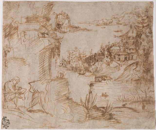 Landscape with Figure