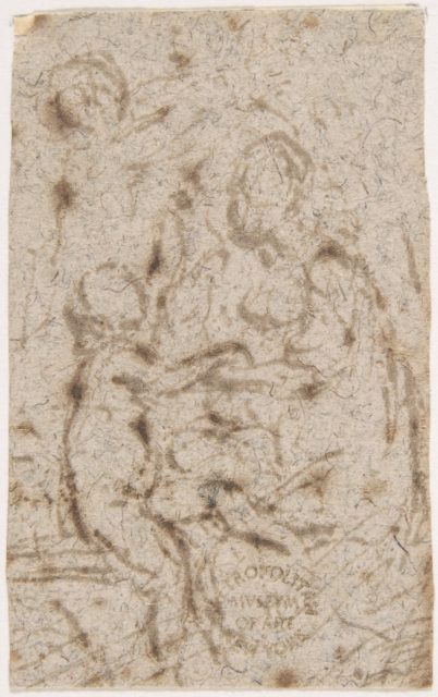 Madonna and Child (recto); Madonna and Child (verso)