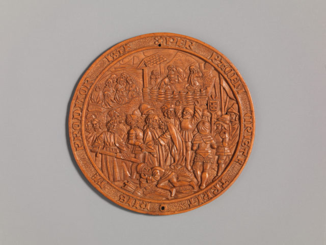Medallion with the Betrayal of Jesus
