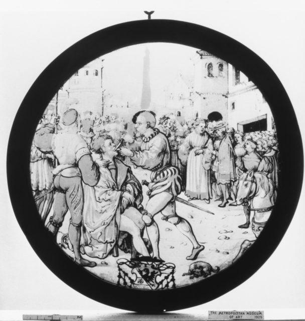 Mutilation of St. Romanus
