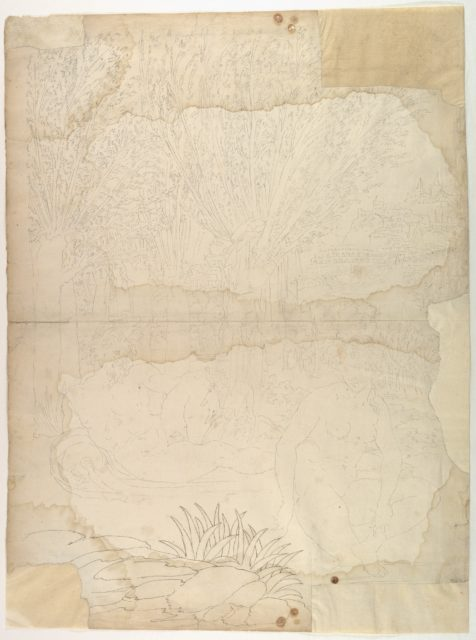 Ornamental drawing