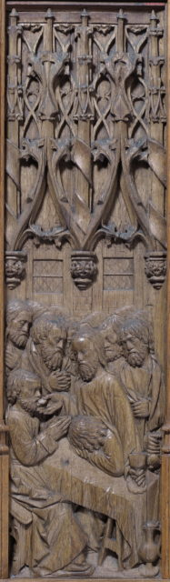 Panel with the Last Supper