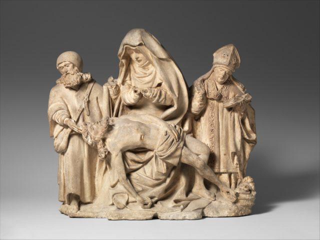Pietà with Saint Nicholas and Saint James the Great