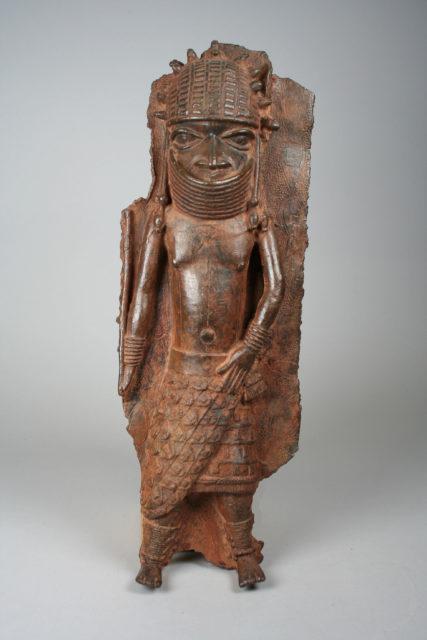 Plaque Fragment: Warrior Chief