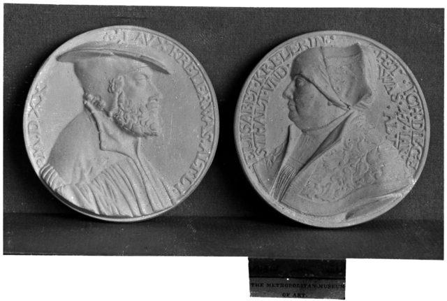 Portraits of Laurence and Elizabeth Kreler