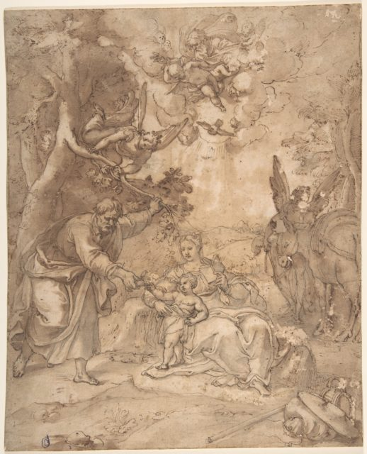 Rest on the Flight to Egypt