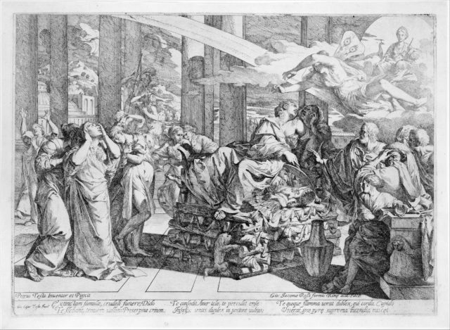 Scrapbook containing Italian Etchings of the XVIth and XVIIth Centuries