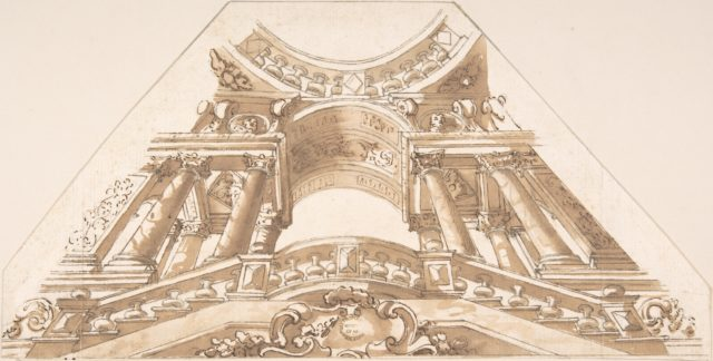 Sketch for Ceiling Panel