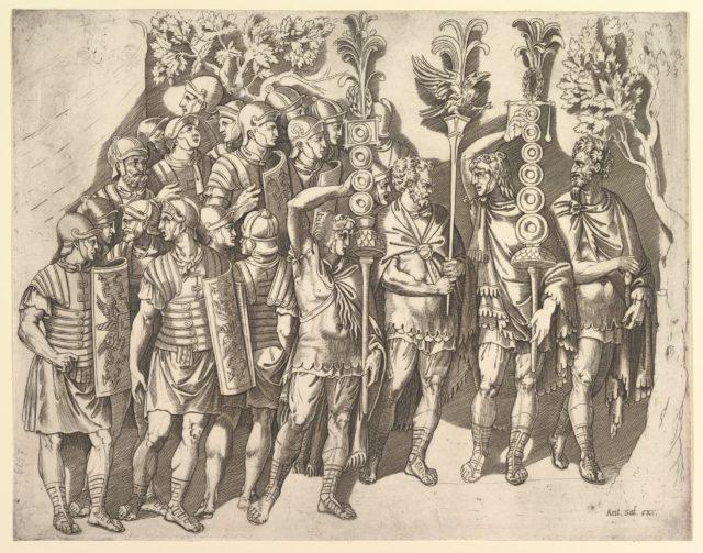Speculum Romanae Magnificentiae: A Roman Legion (from Trajan's Column)