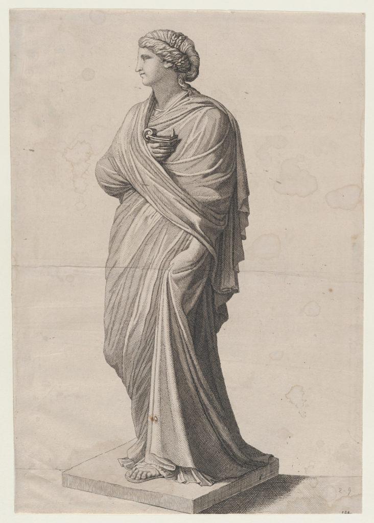 Speculum Romanae Magnificentiae: A Vestal Virgin (?)