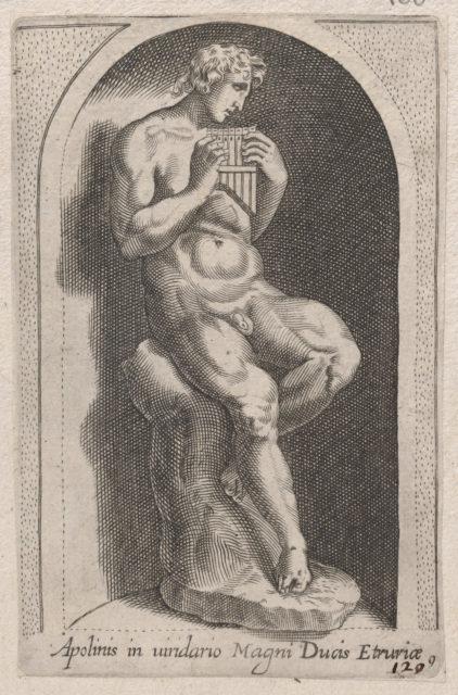 Speculum Romanae Magnificentiae: Apolinis (Apolinis in uiridario Magni Ducis Etruriae)