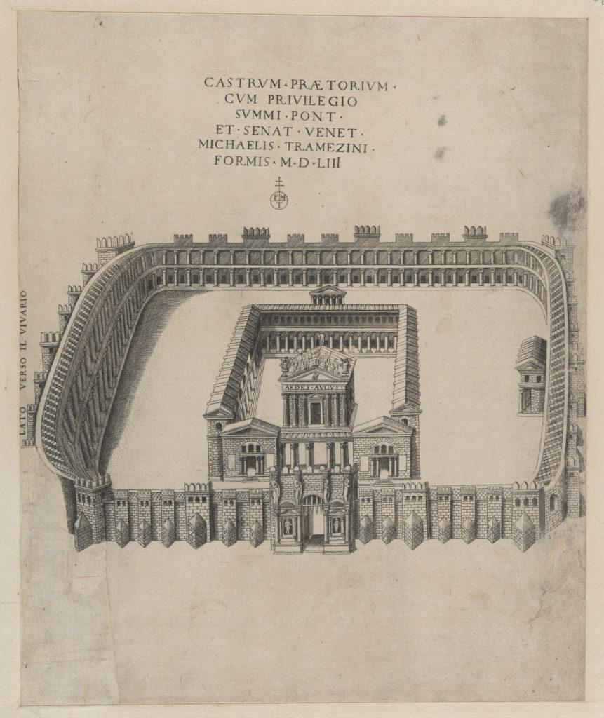 Speculum Romanae Magnificentiae: Castrum