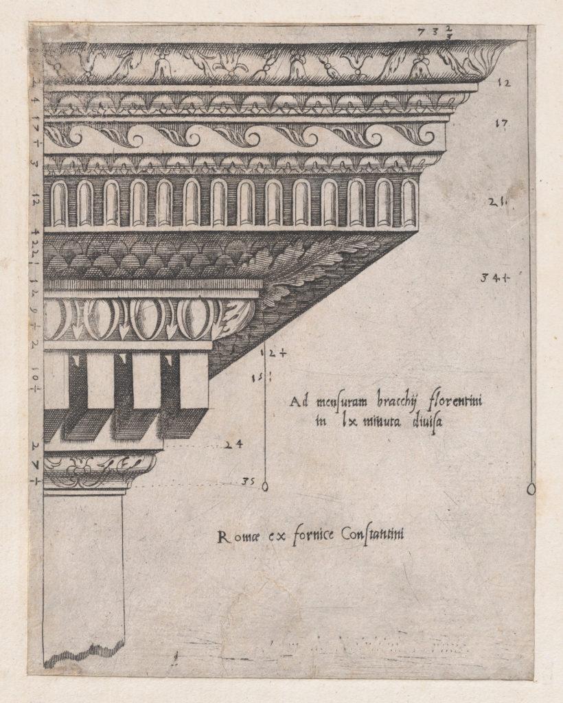 Speculum Romanae Magnificentiae: Cornice