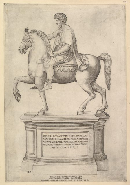 Speculum Romanae Magnificentiae: Marcus Aurelius