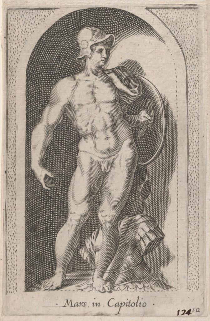 Speculum Romanae Magnificentiae: Mars (Mars in Capitolio)