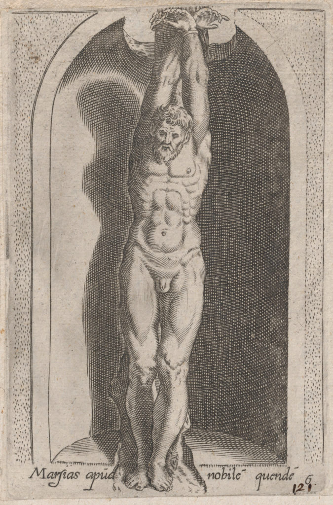 Speculum Romanae Magnificentiae: Marsias (Marsias apud nobile quende)