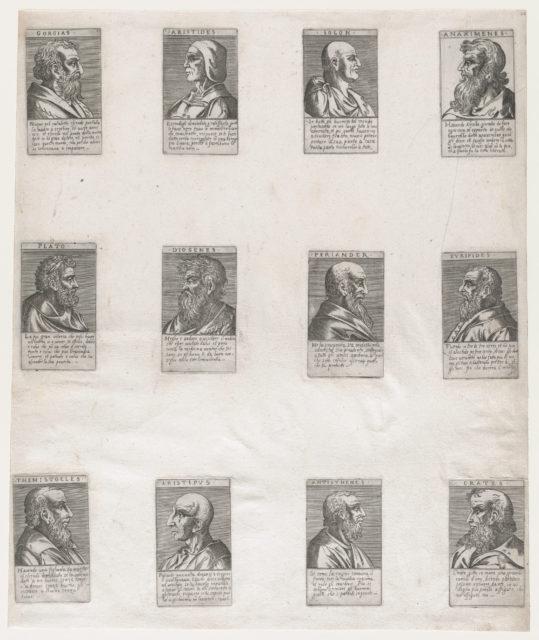 Speculum Romanae Magnificentiae: Portraits of the Ancient Philosophers