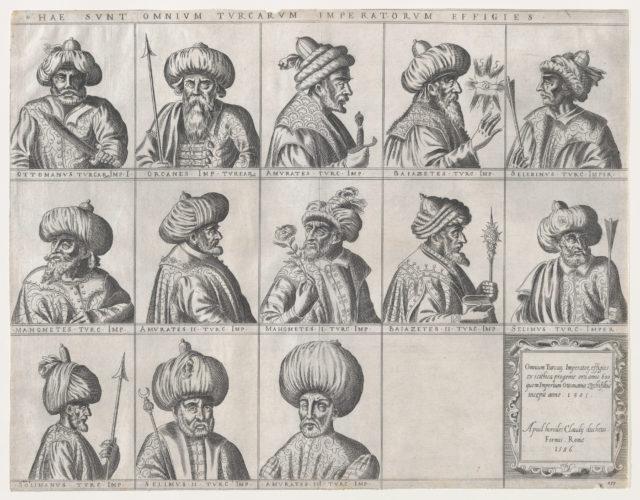 Speculum Romanae Magnificentiae: Portraits of Turkish Sultans