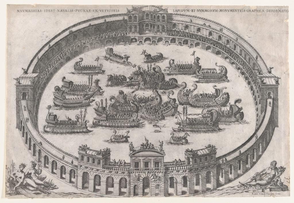 Roman Gladiator Naval Battle