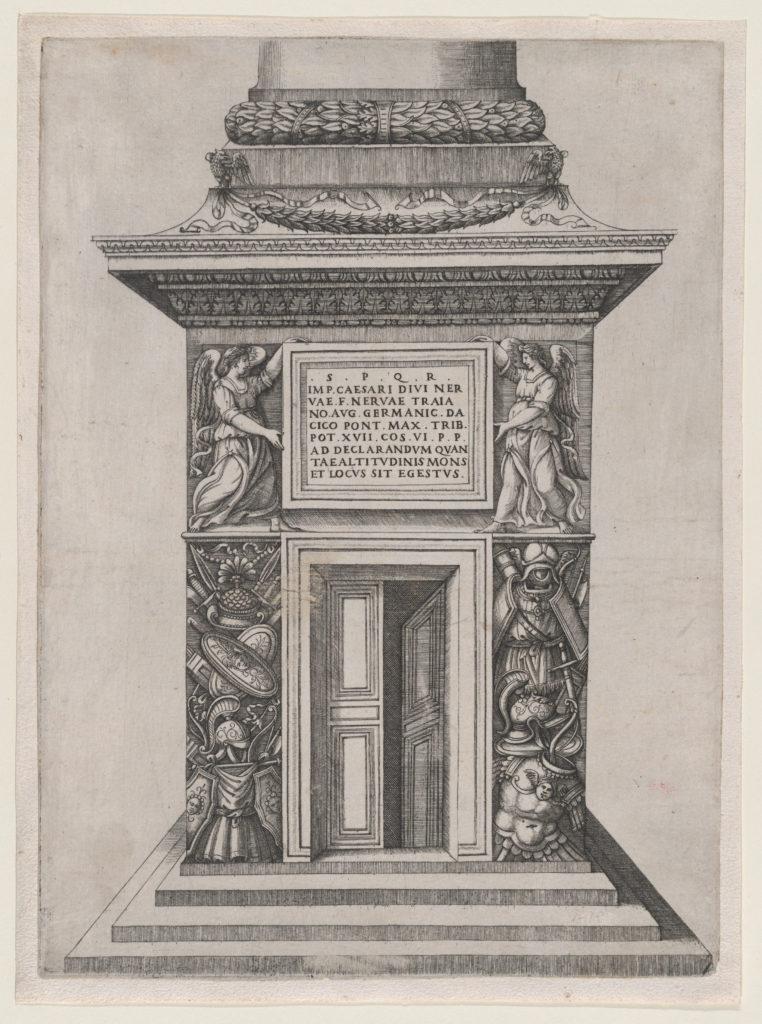Speculum Romanae Magnificentiae: The Pediment Base of Trajan's Column