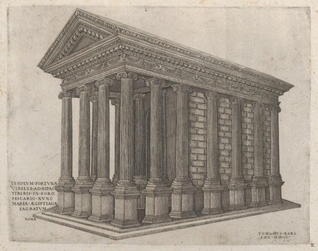 Speculum Romanae Magnificentiae: The Temple of Fortune in Rome