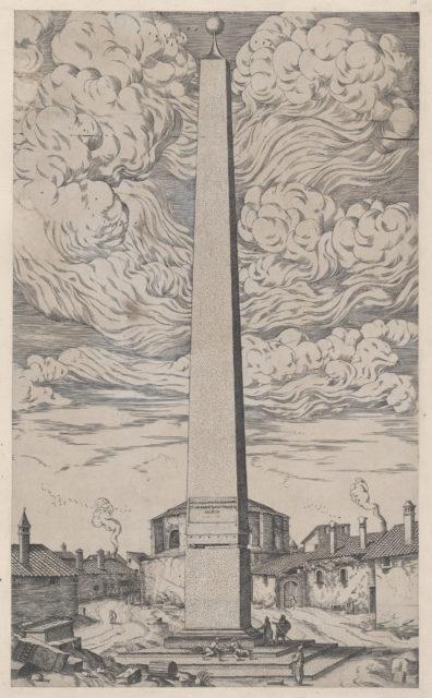 Speculum Romanae Magnificentiae: The Vatican Obelisk