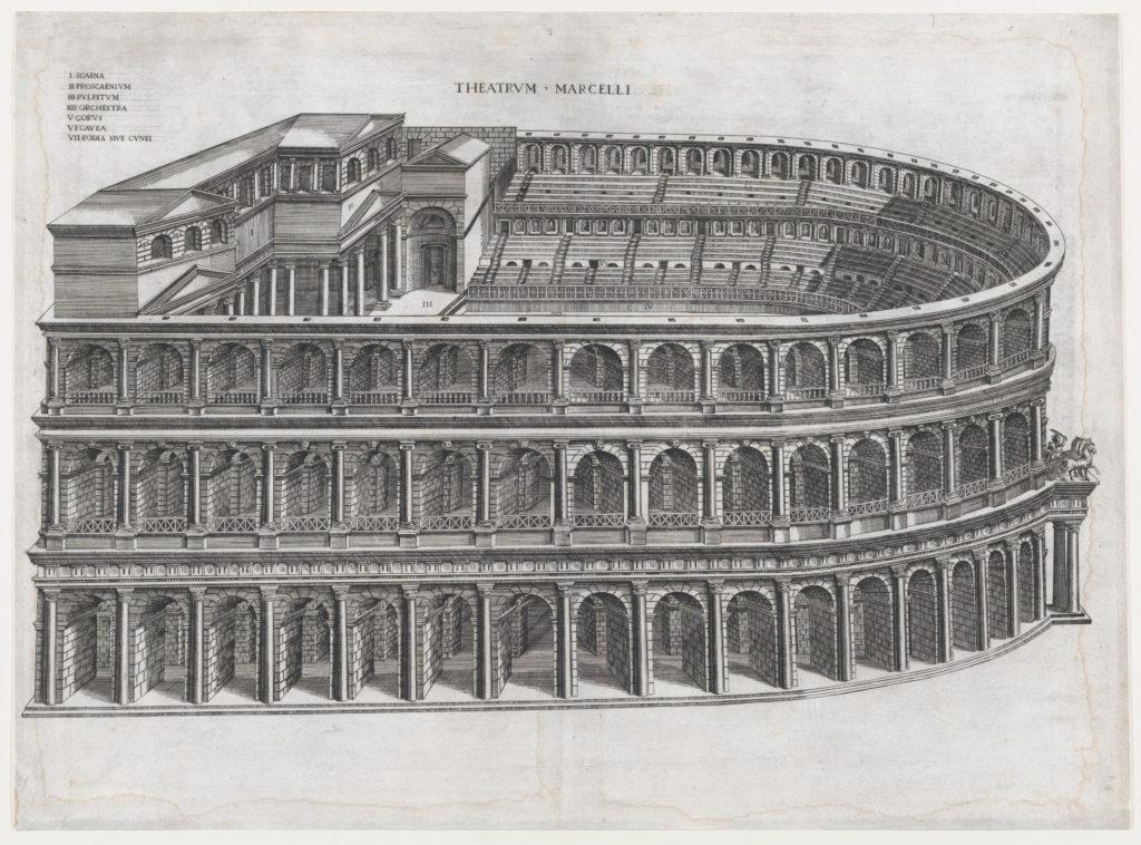 Speculum Romanae Magnificentiae: Theater of Marcellus