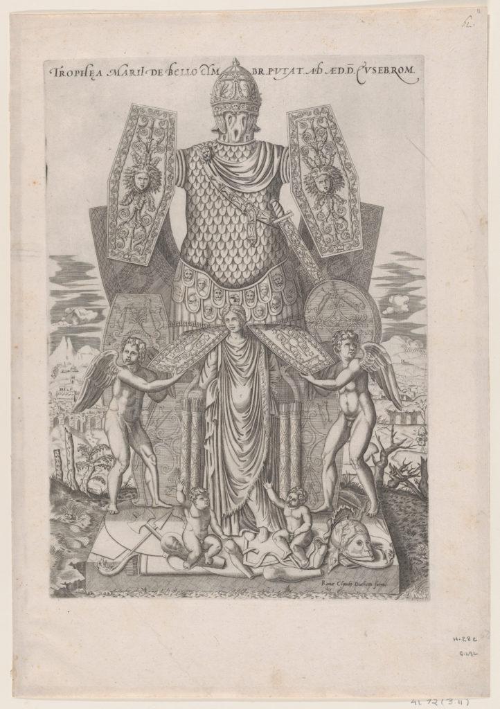 Speculum Romanae Magnificentiae: Trophies of Marius