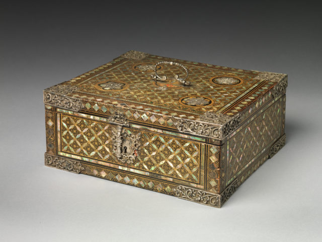 Storage Box in Nanban (Southern Barbarian) Style