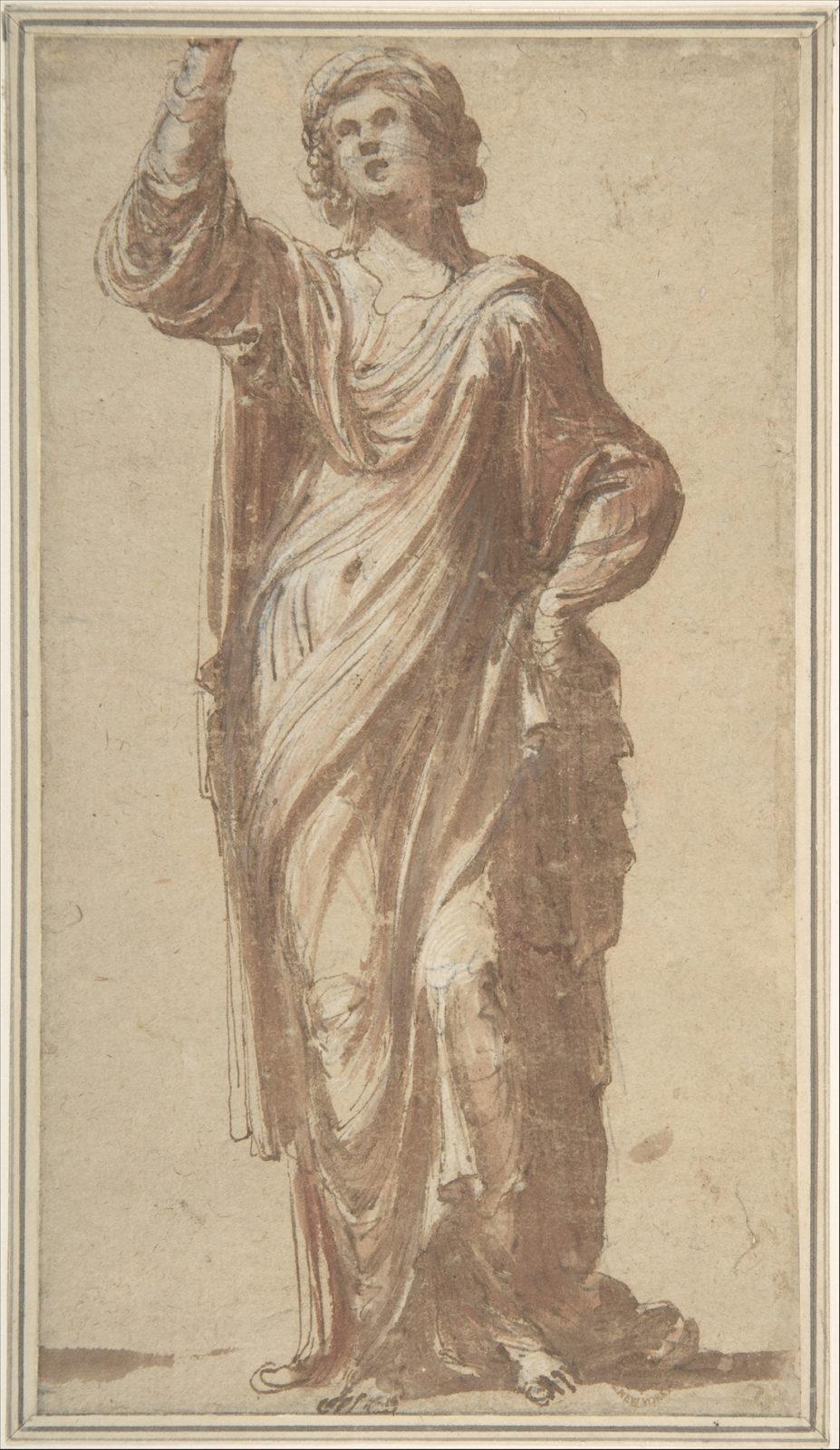 Symbolic Figure (a Sibyl?)