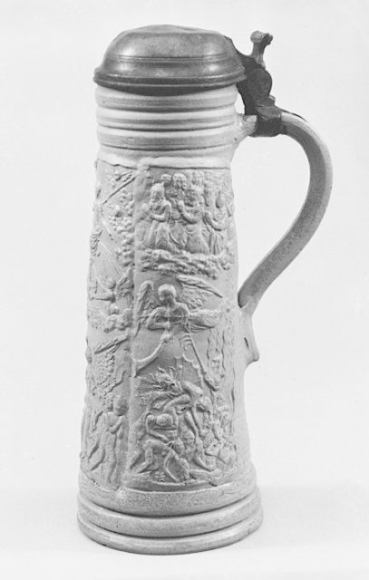 Tankard (Schnelle) with The Last Judgment