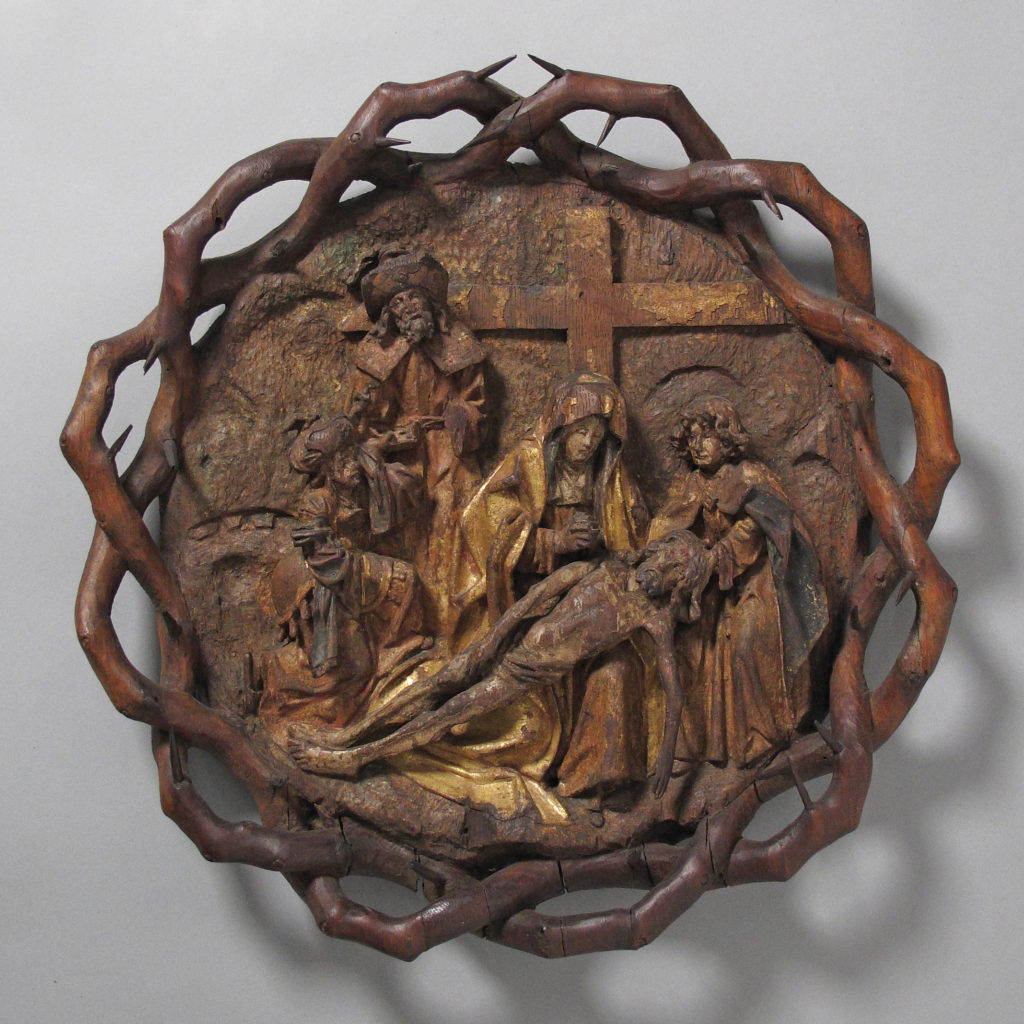 The Crown of Thorns with the Lamentation or Pietà