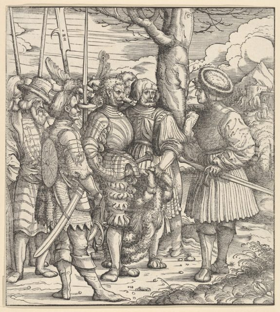 The Skill of the White King Dealing with Different Nations in Wartime, from Der Weisskunig