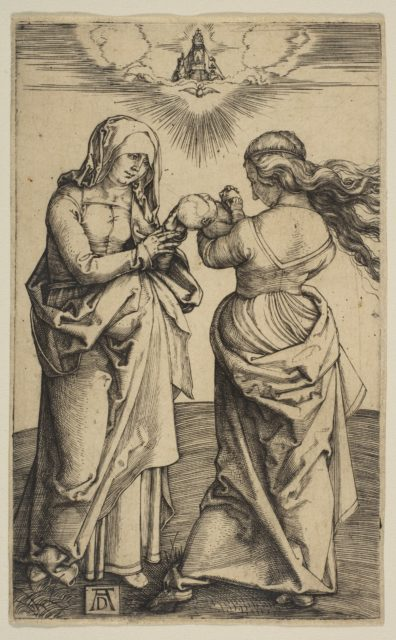 The Virgin and Child with the Infant Christ and Saint Anne