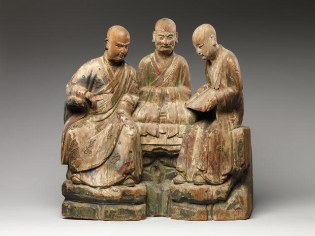 Three Arhats (Luohans)