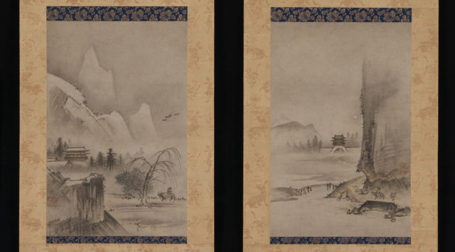Two Views from the Eight Views of the Xiao and Xiang Rivers