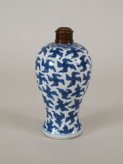 Vase with clouds
