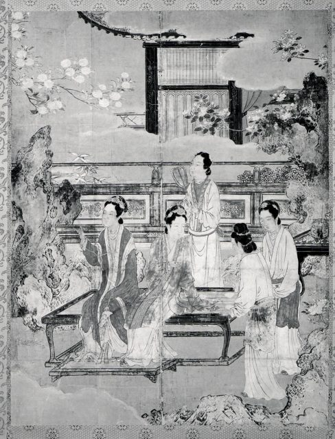 Women at Chinese Court