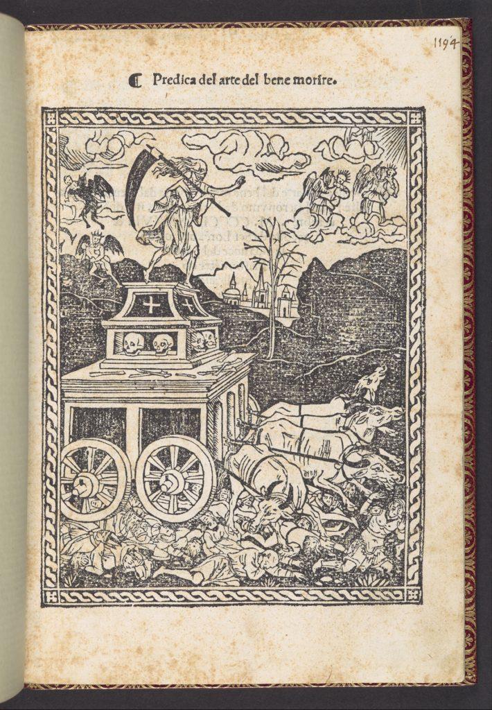 Predica del arte del bene morire (sermon on the art of dying well)