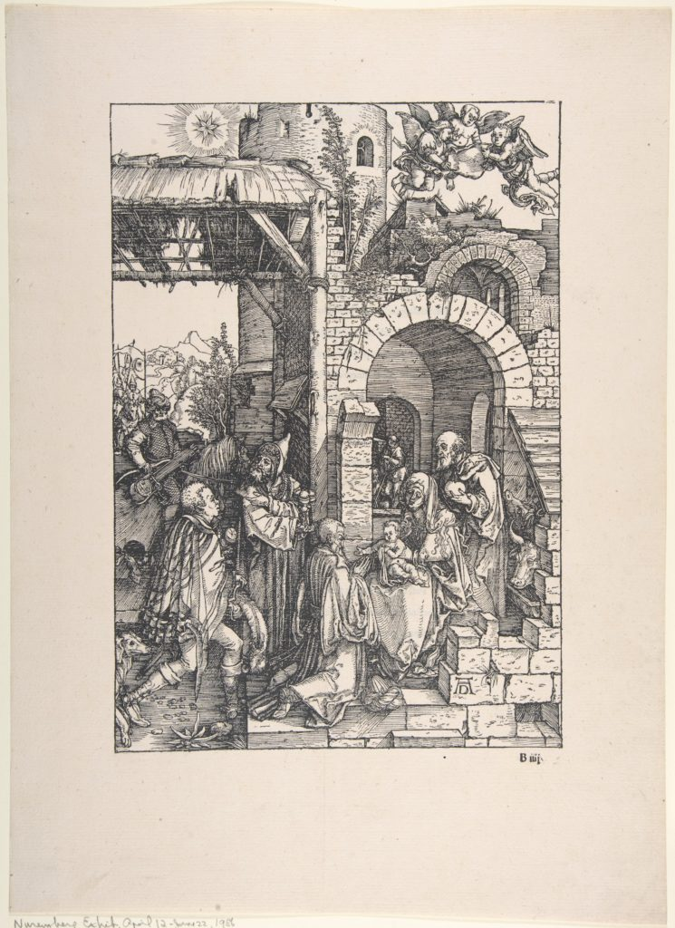 The Adoration of the Magi, from the series The Life of the Virgin