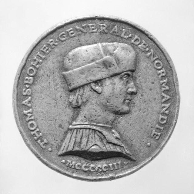 Thomas Bohier, général des finances 1496, d. 1524 (o.s.)