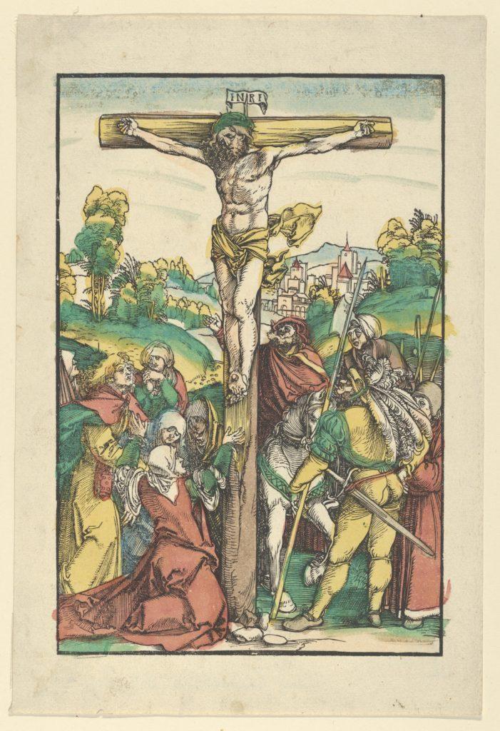 The Crucifixion (restrike?)