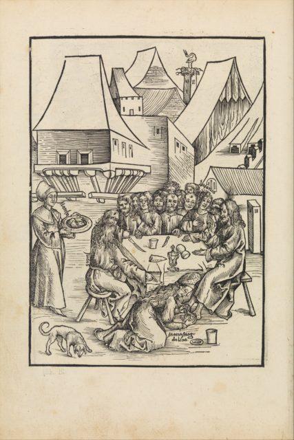 Der text des Passions oder leydens christi auß den vier evangelisten zusammen in ein Sinn bracht mit schönen figuren