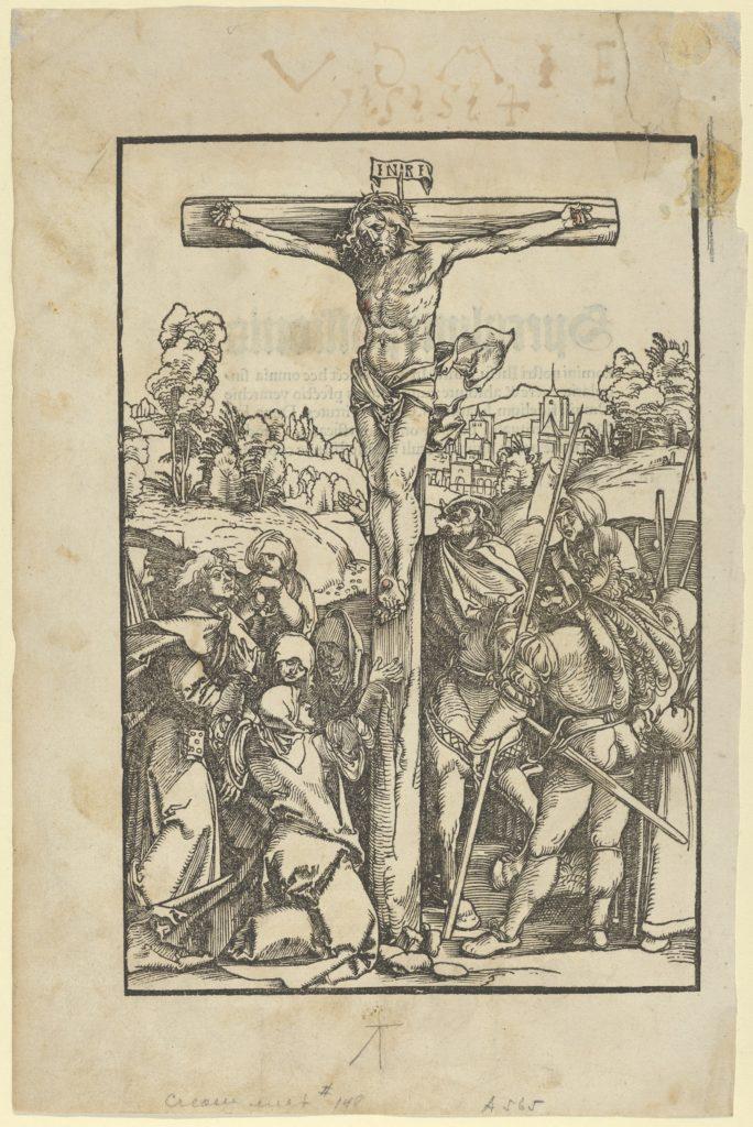 The Crucifixion, from Speculum passionis domini nostri Ihesu Christi