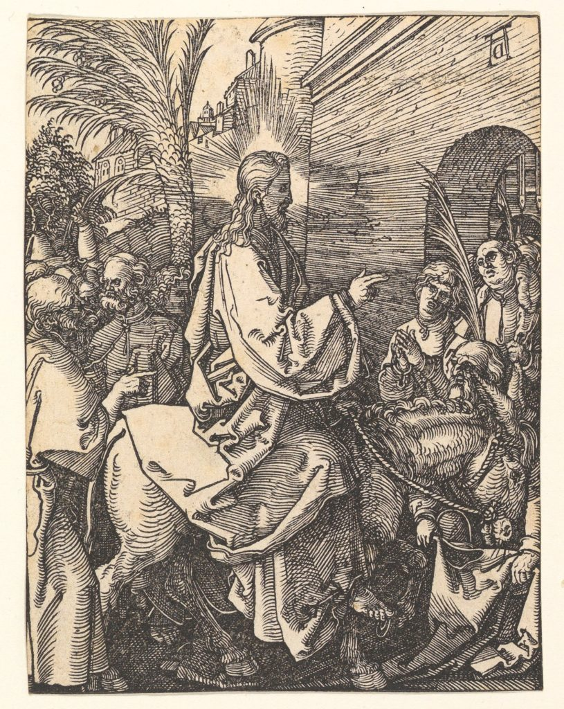 Christ's Entry into Jerusalem, from The Small Passion