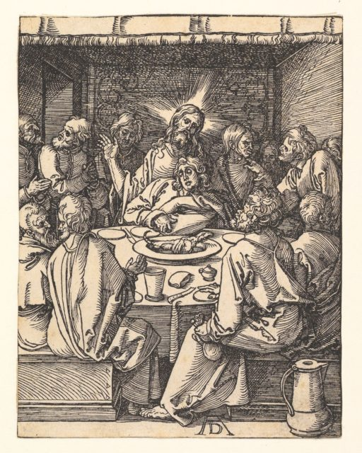 The Last Supper, from The Small Passion