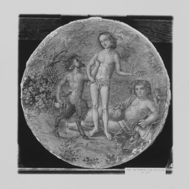 Bacchus, Pan and Silenus