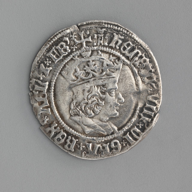 Groat of Henry VIII (first coinage)