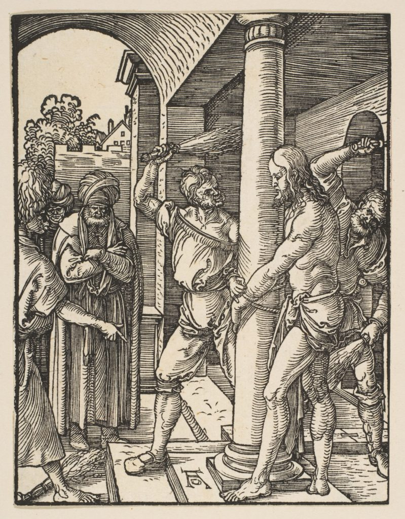 The Flagellation, from The Small Passion